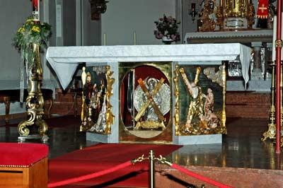 reliquie im altar